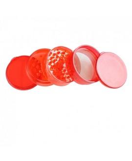 Grinder in plastica 5 parti vari colori