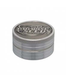 Paradise Seeds Grinder 38mm 2 parti silver