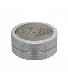 Paradise Seeds Grinder 50mm 2 parti silver