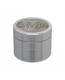 Paradise Seeds Grinder 50mm 4 parti silver